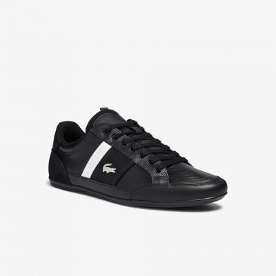 Men's Chaymon Leather and Suede Sneakers boutique 41CMA0048