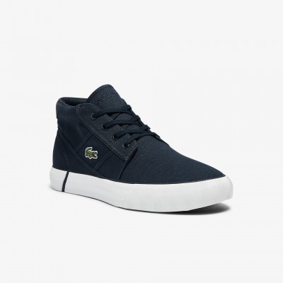 Men's Gripshot Canvas and Leather Chukkas White & Dark Green • 1R5 Ships Free 41CMA0025