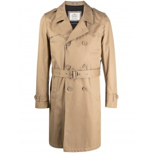 Herno Women double-breasted trench coat On Sale IKNM730