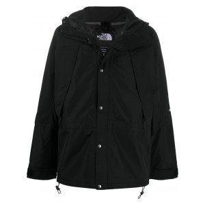 The North Face Women's embroidered-logo hooded jacket fashion guide AXJC613
