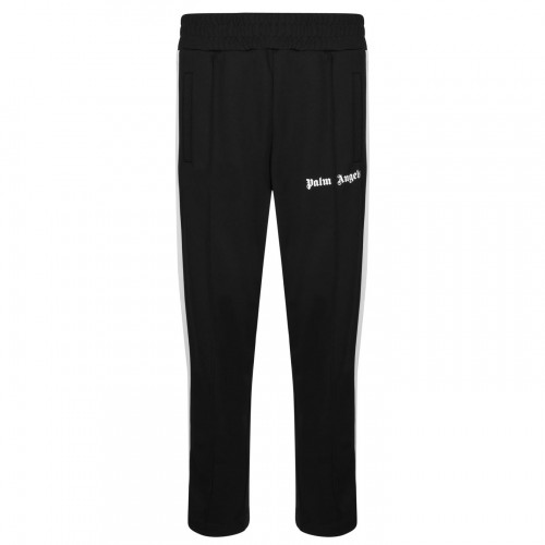 Mens PALM ANGELS Classic Track Jogging Bottoms Black 1001 for sale near me EI12G7816