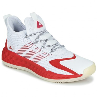 adidas Performance COLL3CTIV3 2020 LOW White / Red Shoes Basketball shoes stores VECI790