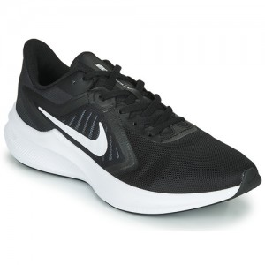 Nike DOWNSHIFTER 10 Black / White Shoes Running-shoes Men on sale online ZXCQ852