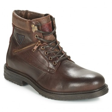 André MORRO Brown Shoes Mid boots Men Express GVFB950
