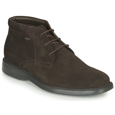 Geox BRAYDEN 2FIT ABX Brown Shoes Mid boots Men spring 2021 LHHO149