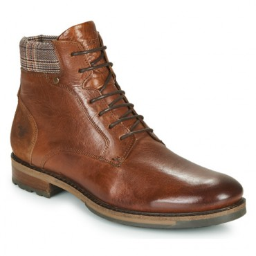 Kost BAXTER 51 Brown Shoes Mid boots Men Selling Well RLKM612
