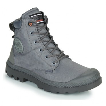 Palladium PAMPA SC RCYCL WP+N Grey Shoes Mid boots fashion guide KSNQ374