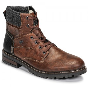 Rieker Brown Shoes Mid boots Men high quality EVDL531
