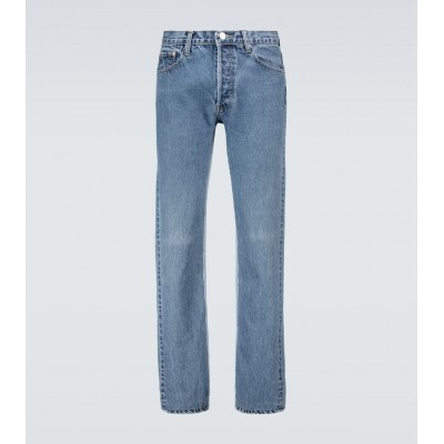 Balenciaga Men Jeans Business Casual - Recycled slip patch jeans KEQO67556