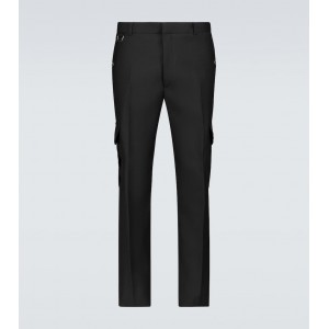 Alexander McQueen Men Casual pants outfits - Serge slim-fit wool cargo pants 8NY4B1491
