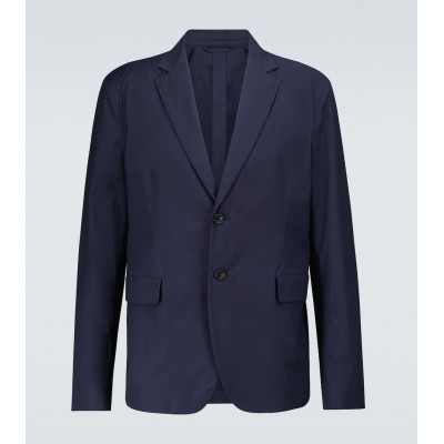 Acne Studios Men Suit jackets Shop - Antibes single-breasted cotton blazer IHT4A5861